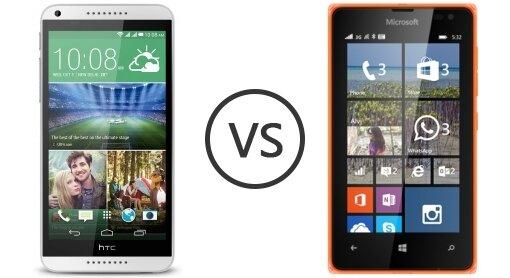 So sánh điện thoại thông minh Microsoft Lumia 532 và HTC Desire 816: Lựa chọn smartphone nào hợp lý