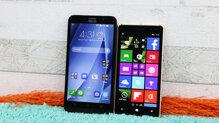 So sánh điện thoại thông minh Asus Zenfone 2 Laser và Nokia Lumia 830