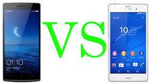 So sánh điện thoại thông minh Sony Xperia M4 Aqua và OPPO R5