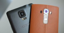 So sánh điện thoại thông minh Galaxy Note 4 và LG G4 – Sự lựa chọn hợp lý