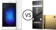 So sánh điện thoại Xiaomi Mi 5 và Sony Xperia Z5 Premium