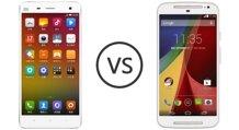 So sánh điện thoại Xiaomi Mi 4i và Moto G (2015)