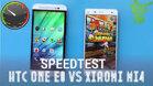 So sánh điện thoại Xiaomi Mi 4i và HTC One E8