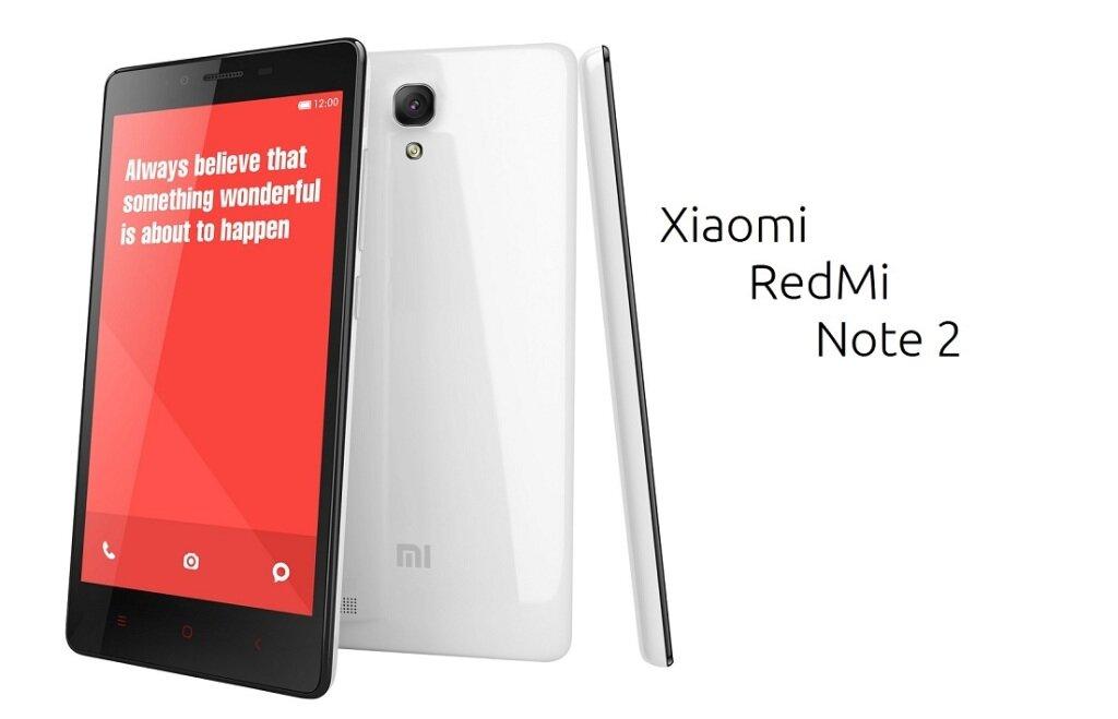 So sánh điện thoại Xiaomi Redmi Note 2 và Asus Zenfone 2
