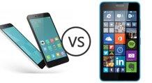 So sánh điện thoại Xiaomi Redmi Note 2 và Nokia Lumia 630