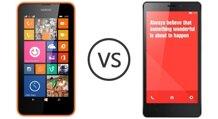 So sánh điện thoại Xiaomi Redmi Note 3 và Nokia Lumia 630