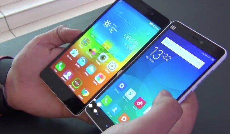 So sánh điện thoại Xiaomi Redmi Note 3 và Xiaomi Mi 4i