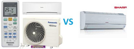 So sánh điều hòa máy lạnh Panasonic và điều hòa máy lạnh Sharp