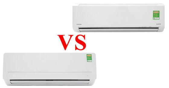 So sánh điều hòa Toshiba và Beko trong tầm giá 7 triệu : Nên chọn điều hòa gì thì tốt ?