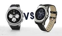 So sánh đồng hồ thông minh LG Watch Urbane và LG Watch Urbane 2