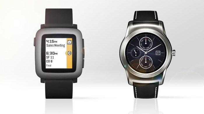 So sánh đồng hồ thông minh LG Watch Urbane và Pebble Time Round