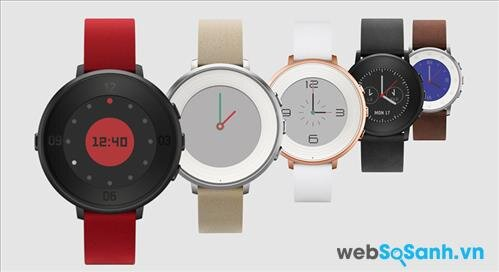 So sánh đồng hồ thông minh LG Watch Urbane 2 và Pebble Time Round