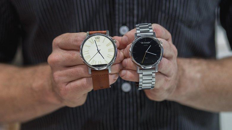 So sánh đồng hồ thông minh Moto 360 (2015) và Samsung Gear S2