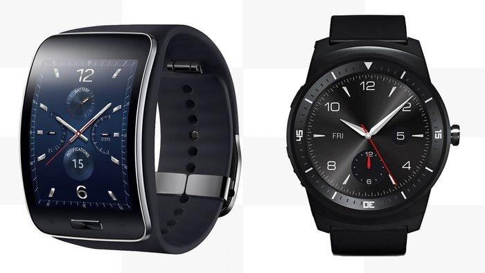 So sánh đồng hồ thông minh Samsung Gear S và LG Watch Urbane 2