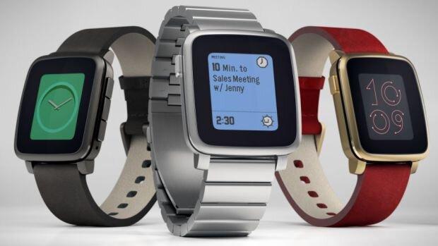 So sánh đồng hồ thông minh Huawei Watch và Pebble Time Round