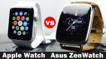 So sánh đồng hồ thông minh Apple Watch và Asus ZenWatch