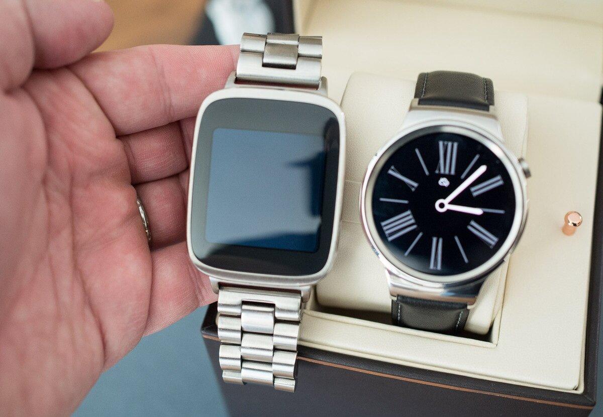 So sánh đồng hồ thông minh Huawei Watch và Asus ZenWatch