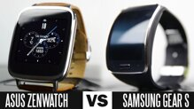 So sánh đồng hồ thông minh Samsung Gear S và Asus ZenWatch