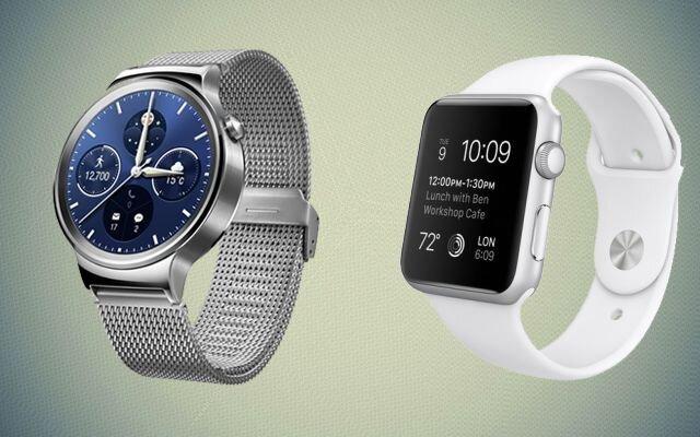 So sánh đồng hồ thông minh Apple Watch và Huawei Watch