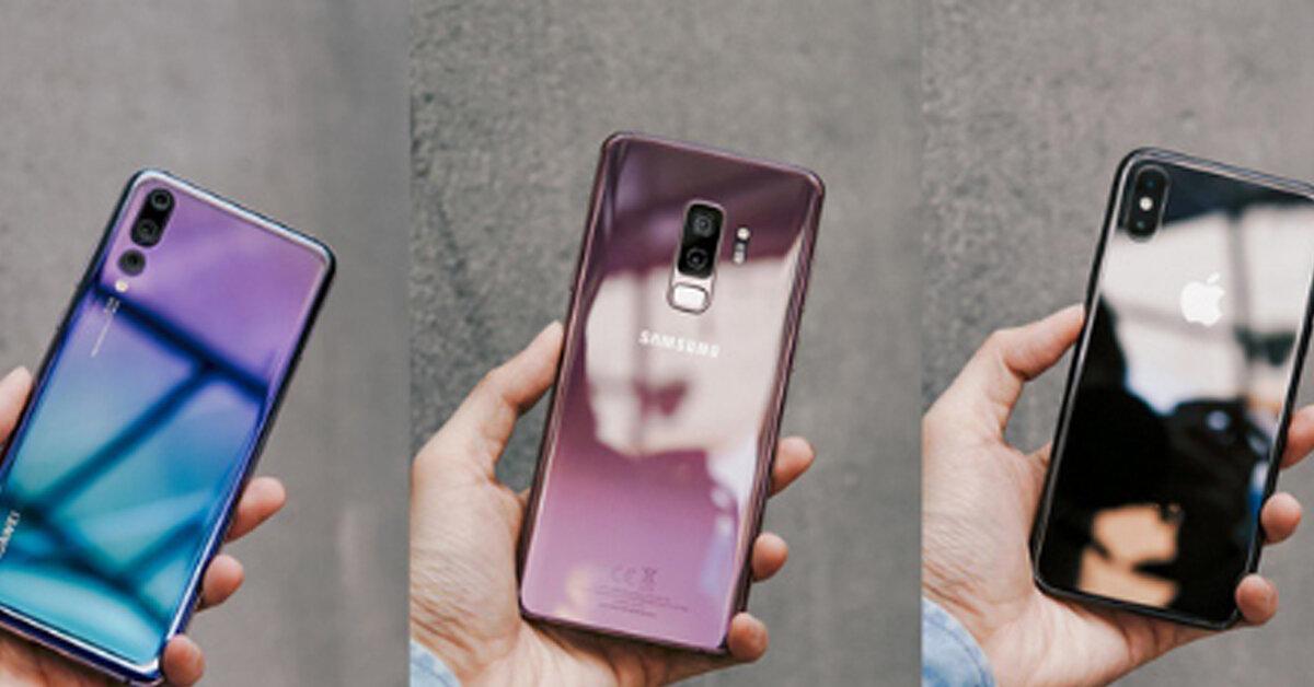So sánh Galaxy S9+, iPhone X và Huawei P20 Pro : Đâu mới là siêu phẩm điện thoại SÁNG GIÁ NHẤT BẠN NÊN LỰA CHỌN ?