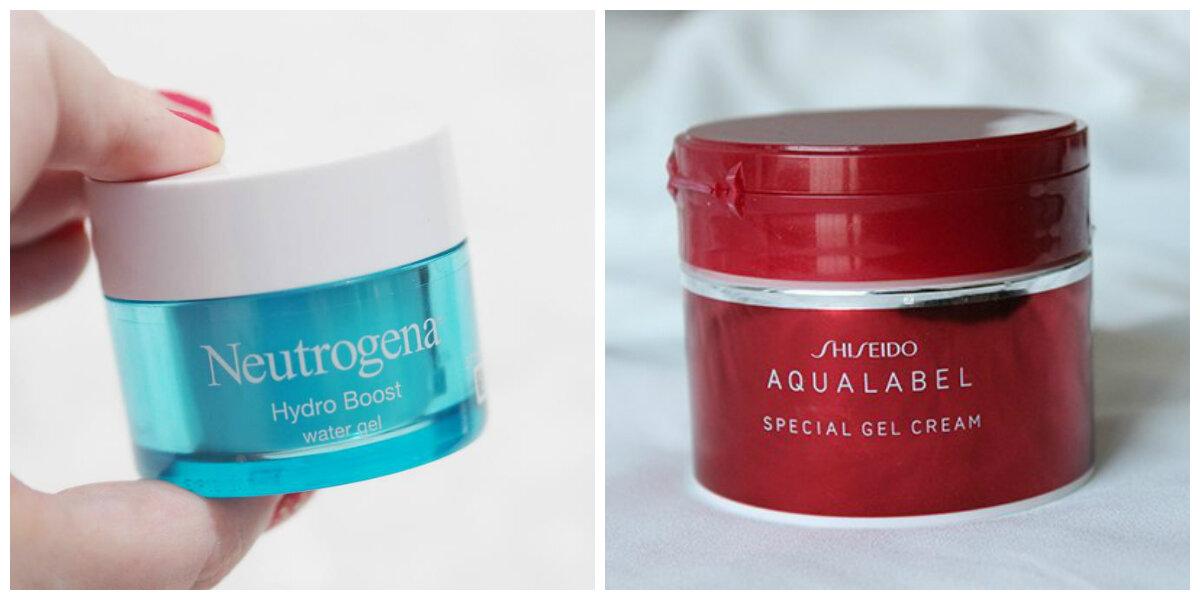 So sánh gel dưỡng ẩm Shiseido Aqualabel Special và Neutrogena Hydro Boost Water Gel