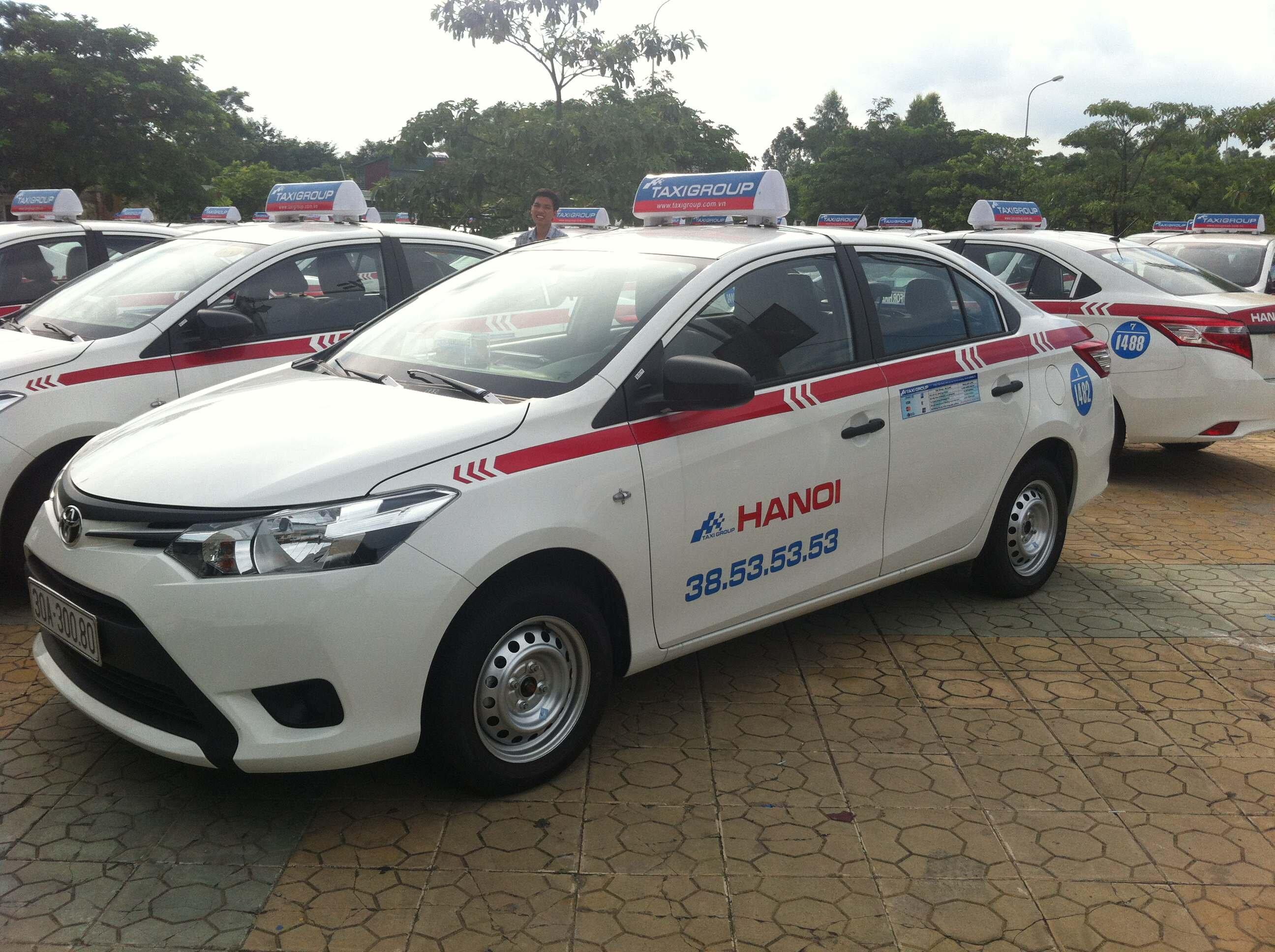So sánh giá cước taxi tại Hà Nội