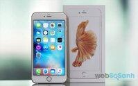 So sánh giá điện thoại di động Apple iPhone tháng 6/2016
