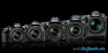 So sánh giá máy ảnh Nikon chính hãng (tháng 10/2015)