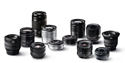 So sánh giá ống kính Fujifilm (tháng 9/2015)