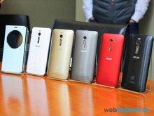 So sánh giá smartphone Asus Zenfone chính hãng (Tháng 7/2015)