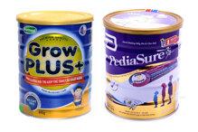 So sánh giá sữa bột Abbott Pediasure B/A với Nutifood Grow Plus cho trẻ biếng ăn