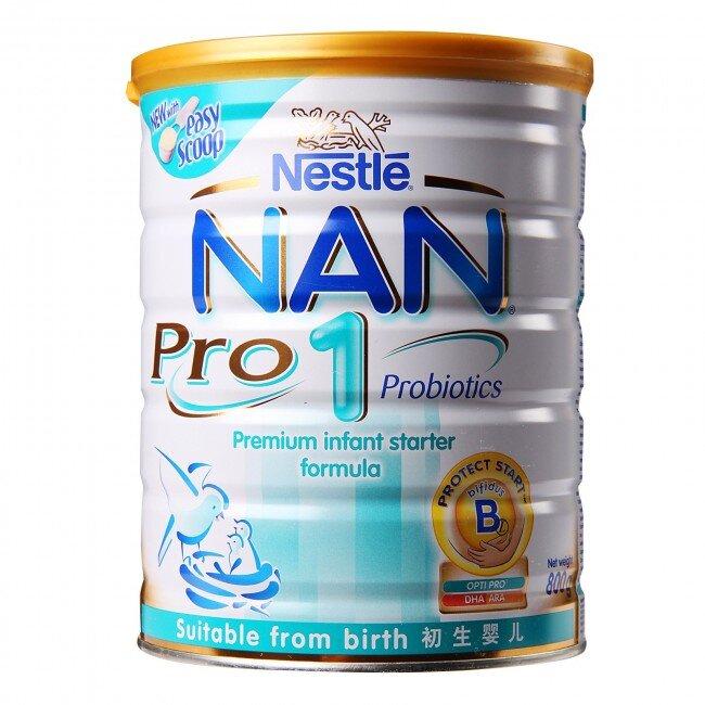 So sánh giá sữa bột Nan Pro cập nhật tháng 7/2015