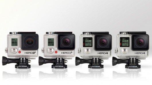 So sánh GoPro Hero4 với GoPro Hero3 + (Phần 1)