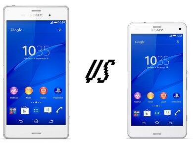 """So sánh hai """"bản sao"""" Sony Xperia Z3 và Xperia Z3 Compact"""