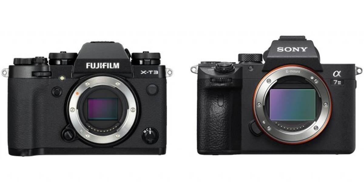 So sánh hai chiếc máy ảnh Fujifilm X-T3 và Sony A7 III