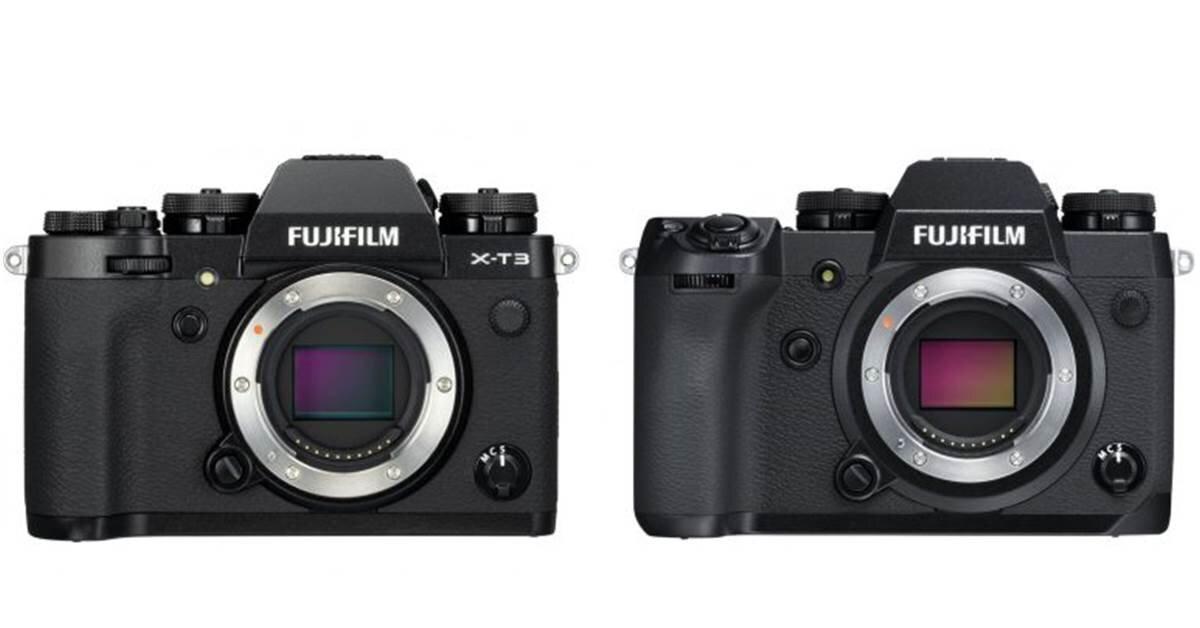 So sánh hai chiếc máy ảnh Fujifilm X-T3 và X-H1