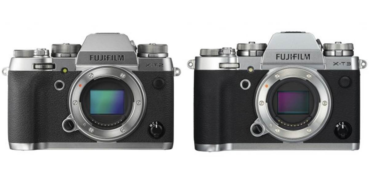 So sánh hai chiếc máy ảnh Fujifilm X-T2 và X-T3