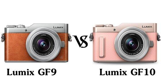 So sánh hai chiếc máy ảnh Panasonic Lumix GF10 và Lumix DMC-GF9