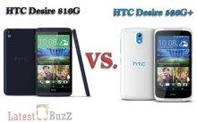So sánh hai điện thoại thông minh HTC Desire 816 và HTC Desire 526G Plus