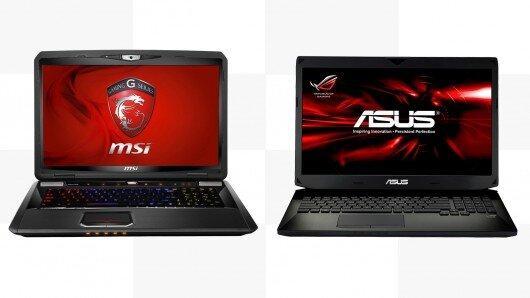 So sánh hai laptop chơi game cao cấp: MSI GT70 Dominator Pro và Asus ROG G750JZ