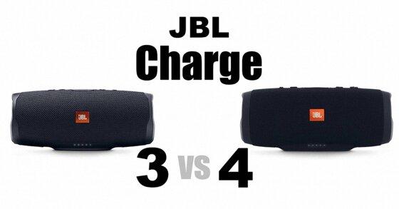 So sánh hai loa JBL Charge 4 và Charge 3: Sự khác biệt là gì?