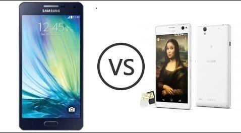 So sánh hai mẫu smartphone tầm trung Galaxy A7 và Xperia C4 Dual