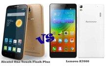 So sánh hai mẫu smartphone tầm trung One Touch Flash Plus và Lenovo A700