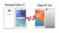 So sánh hai mẫu smartphone tầm trung Oppo R7 Lite và Samsung Galaxy J7