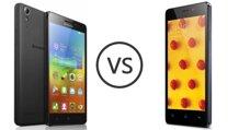 So sánh hai mẫu smartphone tầm trung giá rẻ Lenovo A5000 và Oppo Joy 3