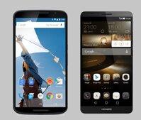 So sánh hai mẫu smartphone Nexus 6 và Ascend Mate 7