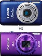 So sánh hai máy ảnh compact Canon IXUS 115 HS với Canon IXUS 265 HS
