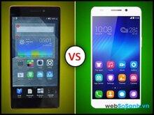 So sánh hai phablet tầm trung Huawei Honor 6 và Lenovo Vibe X2