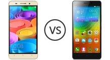 So sánh hai smartphone tầm trung Lenovo A7000 và Huawei Honor 4X