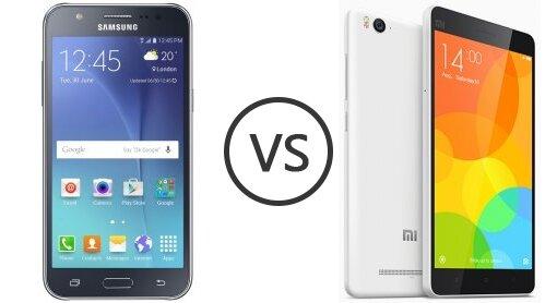 So sánh hai smartphone tầm trung Xiaomi Mi 4i và Samsung Galaxy J7